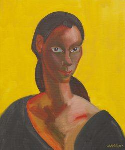 Self Portrait, Oil on Canvas, 60x50cm., 2018